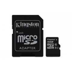 Paměťová karta Kingston micro SDHC UHS-I Industrial Temp class 10 16GB s adaptérem