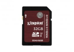 Paměťová karta Kingston SDHC U3 32GB, 90R/80W